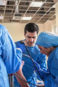 Επίδειξη σε cadaver course (2019)